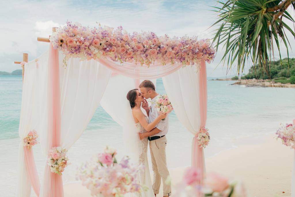 Свадьба Иры и Антона на Пхукете, остров Бон